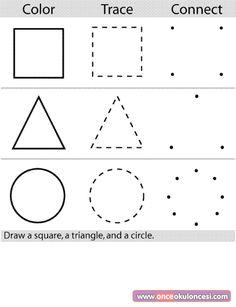 Preschool color worksheets color page, education school coloring pages, color plate, coloring . Shape Tracing Worksheets, Color Worksheets For Preschool, Preschool Colors, Preschool Learning, Kindergarten Worksheets, Preschool Activities, Teaching, Printable Worksheets, Printable Coloring