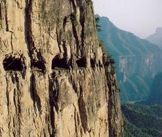 World's Most Dangerous Roads: China's Guoliang Tunnel || Jaunted