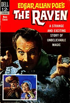 Edgar Allan Poe's The Raven, published by Dell Movie Classic, 1963.