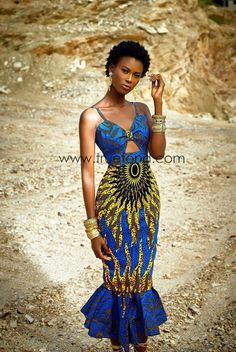 African fashion is available in a wide range of style and design. Whether it is men African fashion or women African fashion, you will notice. Long African Dresses, African Print Dresses, African Wear, African Attire, African Fashion Dresses, African Women, African Style, Fashion Outfits, African Clothes