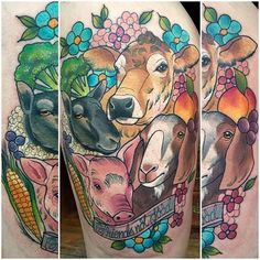 Sorry about the rubbish photos, it wraps loads cause it's huge! But had loads of fun with this today 2 vegan tattoos in 2 days, I'm in HEAVEN