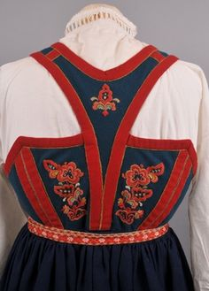 Folk Costume, Costumes, Finger Weaving, Traditional Outfits, Vest, Folklore, Norway, Anna, Random