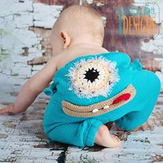 Alien Monster Pants, Owl and Monkey Pants, Ponchos, Dresses, Skirts, and other Garment PDF Knit and Crochet Patterns with instant download. Fox, Owl, Sock Monkey, Alien, Penguin, Bear, and other animal inspired Rugs and Blankets PDF Crochet Patterns with...