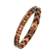 Reevaria Ladies Elegant Pure Copper Magnetic Therapy Bracelet Pain Relief for Arthritis and Carpal Tunnel 3500 Gauss links * Check out this great product.