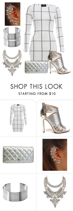 """""""Just for the Night"""" by marisaleee ❤ liked on Polyvore featuring AX Paris, Chanel and Charlotte Russe"""