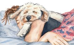 girl and dog aesthetic ~ girl and dog . girl and dog photography . girl and dog drawing . girl and dog illustration . girl and dog tattoo . girl and dog quotes . girl and dog art . girl and dog aesthetic Me And My Dog, Girl And Dog, I Love Dogs, Cute Dogs, Poodle Mix Dogs, Puppies, Art Mignon, Dog Nose, Dog Illustration