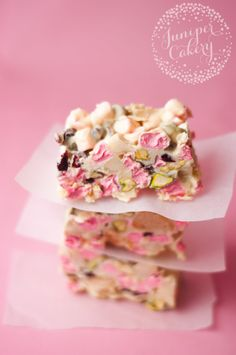 Here's an amazingly impressive yet stress free treat for you to whip up as a Christmas snack... our festive white chocolate rocky road recipe!