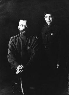 Nicholas II & Alexei
