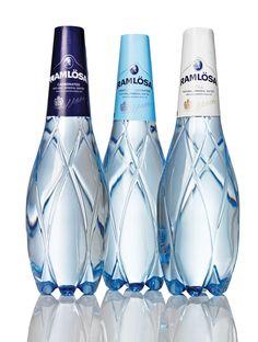 NINEhas recently redesigned the packaging forRamlösa's Premium PET. love the bottles