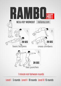 Rambo HIIT Workout