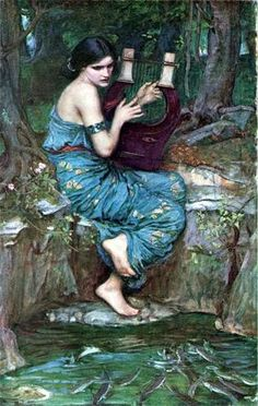 The Charmer by J.W. Waterhouse