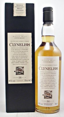 A rare discontinued bottling from the Clynelish Single Malt Scotch Whisky Distillery. Flora & Fauna Series.