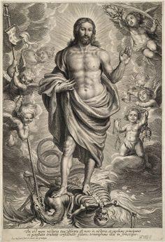 Christ Triumphant Over Death bySchelte Adams Bolswert