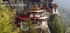 Bhutan has remained a country where are old customs and traditions are still part of the everyday lives of the people, even while modernization and the strains of global influence are felt more and more. Its isolation, spectacular mountains, varied flora and fauna, ancient Buddhist monasteries, vibrant culture and mystic aura have made the last paradise on earth becoming an increasingly popular tourist destination.