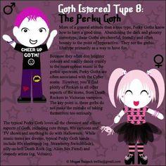 Goth Type 8: The Perky Goth by ~Trellia on deviantART