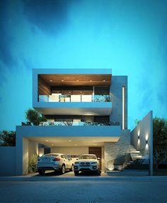 Encuentra las mejores ideas e inspiración para el hogar. CASA EC por Nova Arquitectura | homify