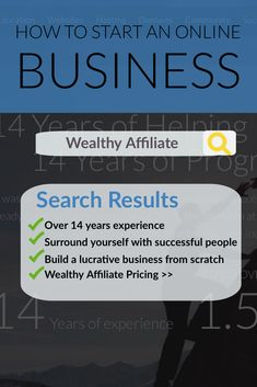 Join Wealthy Affiliate and leverage the most helpful, the most technologically advanced, and the most thriving community of its kind in the world. It's completely free to get started. Successful Online Businesses, Successful People, Internet Entrepreneur, Internet Marketing, Cash Program, Program Management, Affiliate Marketing, No Time For Me, 12 Months