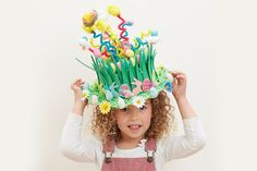 Get Springy with this spectacular Easter bonnet and use pipe cleaners to send these tiny critters sky high! There is a huge selection of Easter toppers to chose from to decorate your bonnets to the max. A great value craft for all the family.