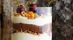Mascarponetrifle med kaffe, hasselnötter och choklad