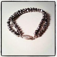 Metallic Crystal Bracelet