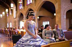 Quinceanera mass, church, celebrating quince anos, dallas quinceanera photographer