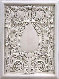 Reproduction of a Louis Sullivan frieze. Love Sullivan's work - partly went to Chicago to see the majority of it.