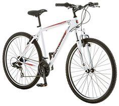 Like all Schwinn bikes the Schwinn High Timber comes with a limited lifetime warranty for as long as you own the bike. Enjoy gravel, trails and wicked pavem  http://topbestbikes.com/product/schwinn-high-timber-mens-18-mountain-bike-18-inchmedium-white/