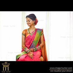South Indian Bride Beautiful Saree, Beautiful Bride, Srilankan Wedding, Tamil Wedding, Big Fat Indian Wedding, Desi Clothes, Long Braids, South Indian Bride, Wedding Photo Inspiration