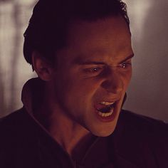 Loki in Thor (2011). This picture kills me! He looks so hurt and angry. Tom Hiddleston is an amazing actor. No doubt. And my favorite an my celeb crush lol