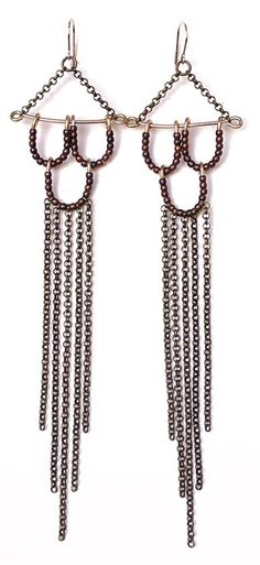 Chain Mail Earrings   Sweet Evie