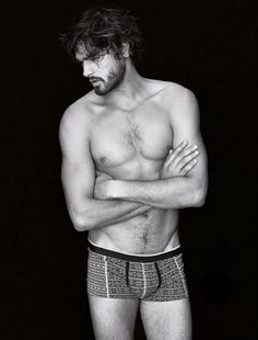 Marlon Teixeira Intimissimi Winter 2014 Men's Lookbook (Intimissimi)