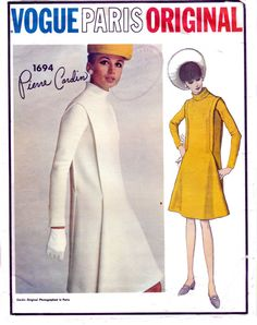 60s Vogue Paris Original Sewing Pattern by allthepreciousthings, $65.00