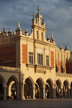 Main Market Square of the Old Town - Kraków, POLAND