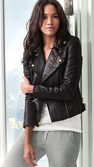 Always wanted a leather biker looking jacket. It's gonna happen next year..its going to happen.