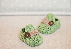 Baby Moccasins - crochet baby booties | Craftsy