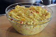 Curry - Reissalat mit Hühnchen