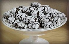 my frst chocolate crinkles