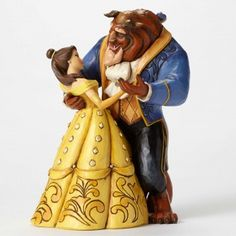 Moonlight Waltz-25th Anniversary Belle and Beast Dancing Figurine June 2015 Dimensions 9.06 in H x 6.61 in W x 7.68 in L