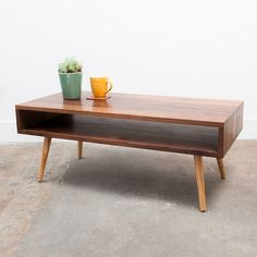 Divisadero Coffee Table from The Jeremiah Collection / Midcentury Modern $649