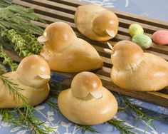 Ducky Dinner Rolls, perfect for any Springtime get-together!