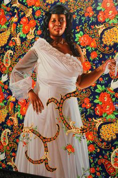 """""""The Economy of Grace"""" 2012 exhibition, artist Kehinde Wiley"""