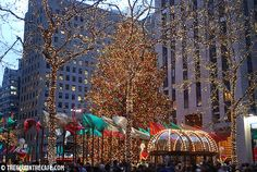 New York, Christmas at the Rockefeller Center.  Next time I want to go in the Spring and visit The Met!