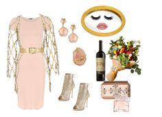 """Going to a Dinner Party"" by digsystuff on Polyvore featuring WearAll, Oscar de la Renta, Zana Bayne, Giuseppe Zanotti, Pasquale Bruni, Indulgems, Guerlain and Varaluz"