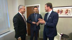 Willie Geist and Carson Daly undergo live testicular cancer exams