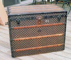 1890 vintage Louis Vuitton Damier Trunk