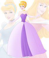 disney fusion: Aurora and Cinderella by Willemijn1991