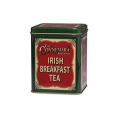 Irish Breakfast Tea in Tin (95 HRK) ❤ liked on Polyvore featuring home, kitchen & dining, food, fillers, drinks, tea and backgrounds