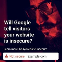 From July is #Google going to warn your wesbite visitors you're not a secure site to use? Not sure? Thanks to our #GooglePartner JP Hogbin for explaining in his latest blog what you need to prepare for: - - - #digitalknowhow #digitalmarketing #websitereview #websitetips #marketingdigital #onlinemarketing #marketingdigital #marketingtips # #blogger #blog #reading #writing #writer #instablogger #bloggers #instablog #writersofinstagram #bloggerstyle #reader #content #blogging Online Marketing, Digital Marketing, Secure Site, Insecure, Blogging, Writer, Told You So, Thankful