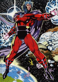 Magneto. Another Jim Lee take on Magneto. I loved this particular storyline...