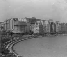 Avenida Beira Mar anos 50
